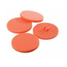 Dischetti per Perforatore HDC150 - arancione - Rapid - conf. 10 pezzi