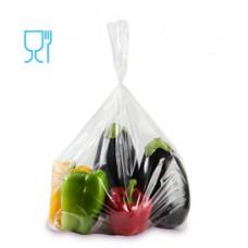 Sacchetti Rex per alimenti - politene - 15x25 cm - 30 micron - trasparente - Gandolfi - conf. 50 pezzi