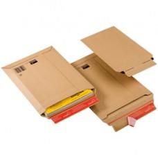 Busta a sacco CP 010 in cartone - adesivo permanente - formato A4+ (235x340 mm) - altezza massima 35 mm - ColomPac