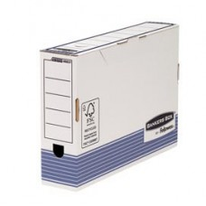Scatola archivio Bankers Box System - formato legale - 25,5x36 cm - dorso 8 cm - Fellowes