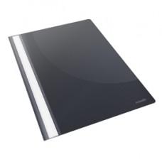 Cartellina ad aghi Report File - con fermafogli - PPL - 21x29,7 cm - nero - Esselte