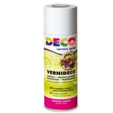 Vernice spray - trasparente - effetto laccato e ceramico - 400ml - DECO
