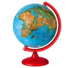 Globo geografico illuminato Zoo Globe - diametro 26 cm - Tecnodidattica