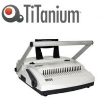 Rilegatrice C21+4 - manuale - combinata - Titanium