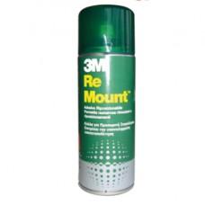 Adesivo Re Mount - rimovibile - 400 ml - trasparente - 3M
