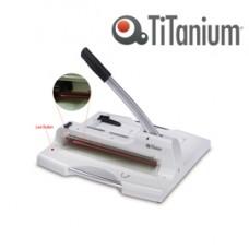 Taglierina a leva alti spessori 3949 - 459x503x508 mm - 360 mm (A4) - capacitA' taglio 50 fg - con blocca lama - grigio -Titanium