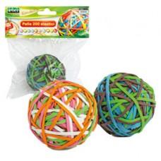 Elastici - D 5 cm - colori assortiti - Lebez - sfera da 200 elastici