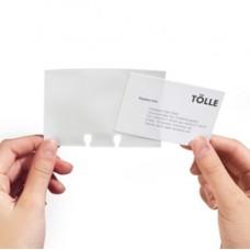 Buste per biglietti da visita - per schedari Visifix  - Durable - conf. 40 pezzi