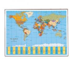 Sottomano Geographic Planisfero - 40x53 cm - LAufer