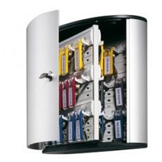 Cassetta portachiavi da parete Key Box - 30,2x11,8x28 cm - 54 posti - grigio - Durable