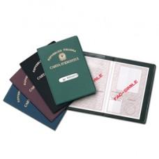Porta carta d'identitA' - con stampa - Alplast - conf. 24 pezzi