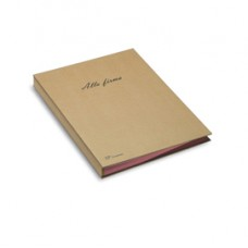 Libro firma Eco - 18 intercalari - 24x34 cm - avana - Fraschini
