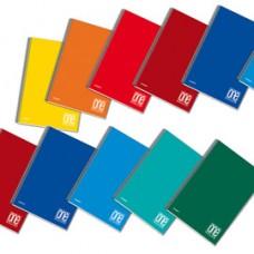 Maxiquaderno One Color - A4+ - forato - microperforato - 1 rigo - 60 fogli - 80 gr - spiralato - Blasetti