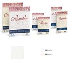 Busta Calligraphy Millerighe - 110 x 220 mm - 100 gr - avorio 02 - Favini - conf. 25 pezzi