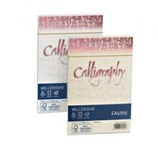 Busta Calligraphy Millerighe - 120 x 180 mm - 100 gr - avorio - Favini - conf. 25 pezzi