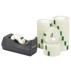Dispenser C38 per nastri fino a 33 mt - 14 rotoli Scotch  Magic 900 inclusi - nero - Scotch