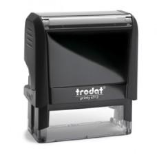 Timbro Original Printy 4.0 4913 - autoinchiostrante - personalizzabile - 58x22 mm - 6 righe - Trodat