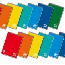 Blocco One Color - A4 - quadretto 5 mm - 60 fogli - 60 gr - spiralato lato corto - Blasetti