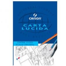Blocco carta lucida - 230x330mm - 10 fogli - 80gr - uso manuale - Canson