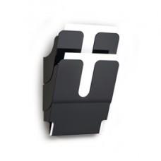 Display da parete Flexiplus - 2 tasche A4 - nero - Durable