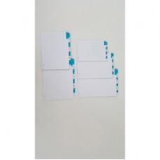 Schede - rubrica A/Z -  24x17 cm (verticale) - bianco - Edipro