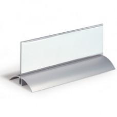 Portanome da tavolo Deluxe - 6,1x21 cm - Durable