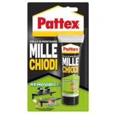 Adesivo Pattex  MilleChiodi - removibile - 100 gr - Pattex