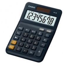Calcolatrice da tavolo MS-8E - 31,7x103x145 mm - 8 cifre - plastica - blu - Casio
