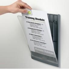 Targa per porte/pareti Click Sign - 21x29,7 cm (A4) - Durable