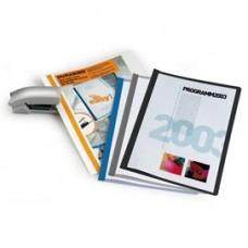 Cartellina per rilegatura Durabind - PVC - 21x29,7 cm - azzurro - Durable