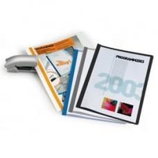 Cartellina per rilegatura Durabind - PVC - 21x29,7 cm - grigio - Durable