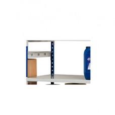 Kit 3 ripiani per scaffali in metallo - 100x60 cm - grigio - Paperflow