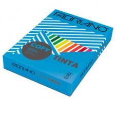 Carta Copy Tinta - A3 - 160 gr - colori forti azzurro - Fabriano - conf. 125 fogli