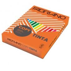 Carta Copy Tinta - A3 - 160 gr - colori forti arancio - Fabriano - conf. 125 fogli