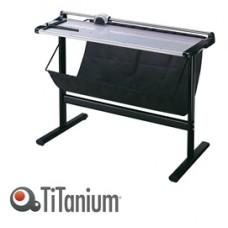 Taglierina a lama rotante 3026 - con stand - 940x510x1695 mm - 1500 mm (A0+) - capacitA' taglio 7 fg - grigio - Titanium