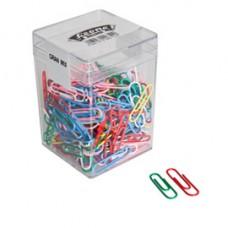 Fermagli - PVC - 125 gr - colori e misure assortiti - Leone