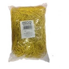 Elastici - gomma gialla - D 6 cm - Markin - sacco da 1 kg