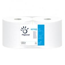 Bobina asciugatutto Special - 2 veli - microgoffrata - 18 gr - diametro 25 cm - 23,4 cm x 180 mt - bianco - Papernet