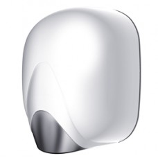 Asciugamani a fotocellula Zefiro Hot - 22,1x15,7x28,5 cm - 550 W - bianco - Medial International