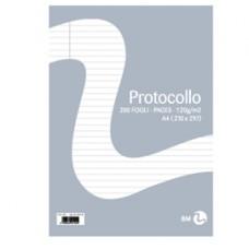Foglio protocollo - A4 - uso bollo - 60 gr - BM - conf. 20 pezzi