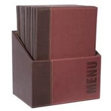 Menu Box Trendy - 20 PortamenU' - bordeaux - Securit