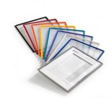 Pannelli di ricambio Sherpa  per leggii Vario  - blu - Durable - conf. 5 pezzi