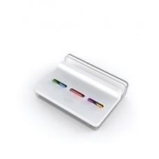 Dispenser Post-it  Index Slim - segnapagina Index Medium e Mini (inclusi) - bianco - Post it