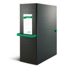 Scatola archivio Big Next - dorso 12 cm - 25x35 cm - nero/verde - Sei Rota