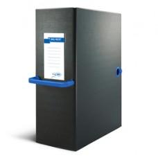 Scatola archivio Big Next - dorso 12 cm - 25x35 cm - nero/blu - Sei Rota