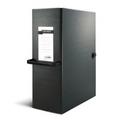 Scatola archivio Big Next - dorso 12 cm - 25x35 cm - nero/nero - Sei Rota