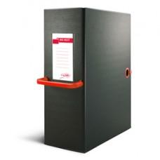 Scatola archivio Big Next - dorso 12 cm - 25x35 cm - nero/rosso - Sei Rota
