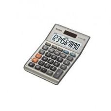 Calcolatrice da tavolo MS-100BM - 10 cifre - big display - grigio - Casio