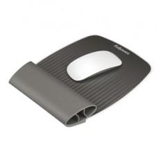 Mousepad con poggiapolsi I-Spire - grigio - Fellowes