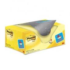Blocco foglietti - giallo Canary - 38 x 51mm - 72gr - Post it  - conf. 20 blocchi